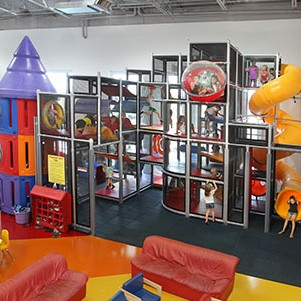 Large Attraction Indoor Playgrounds
